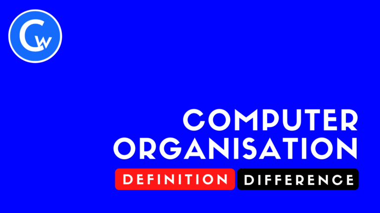 What is Computer Organisation?