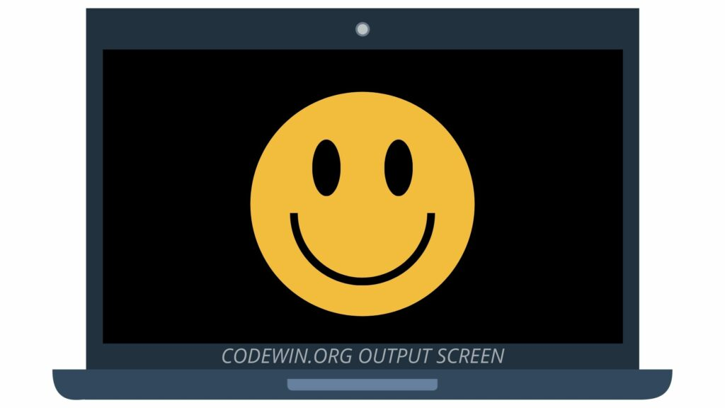C Program to Draw colored smiley Using C Graphics